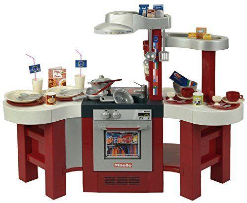 Klein 9155 Duża Kuchnia Miele Z Akcesoriami I Efektami Dźwiękowymi