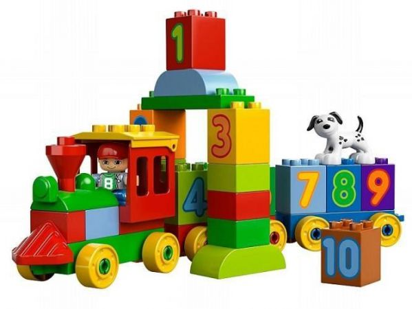 Lego Duplo 10558: Number Train Pociąg z Cyferkami
