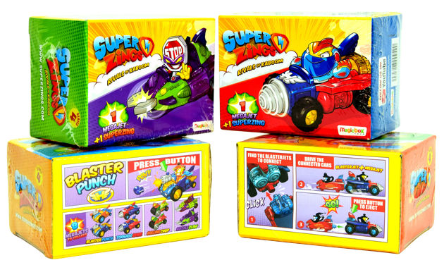 Magic Box Super Zings Seria 4 pojazd MegaJet + figurka SuperZings