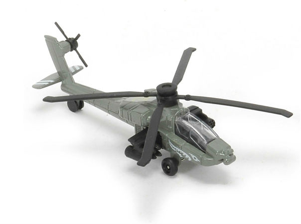 Majorette Air Squadron Helikopter AH-64 Apache Longbow
