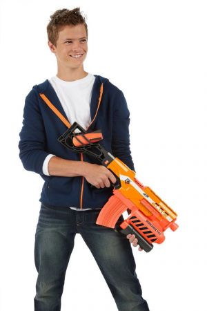 Nerf N-Strike Demolisher Blaster 2 w 1 + pociski