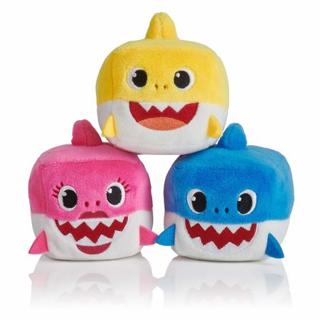 Pinkfong Baby Shark Mini pluszak Daddy Shark Cube