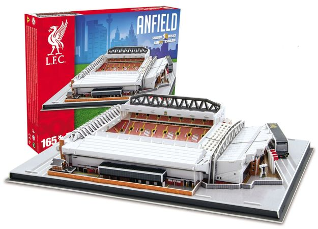 Puzzle 3D Model stadionu Anfield (Liverpool)