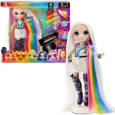 Rainbow High lalka Amaya Raine 28 cm Hair Studio
