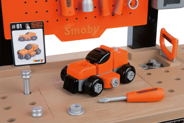 Smoby 360701 Black&Decker Warsztat Bricolo Center