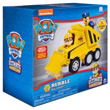 Spin Master Psi Patrol Ultimate Rescue Spycharka Rubble'a