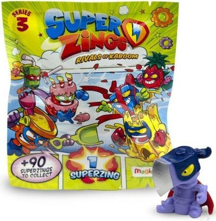 Super Zings seria 3 Saszetka z figurką Magic Box Superzings - 10 SZTUK