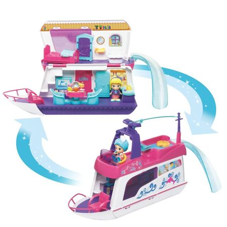 vTech Flipsies 2w1 Jacht i domek Sandy